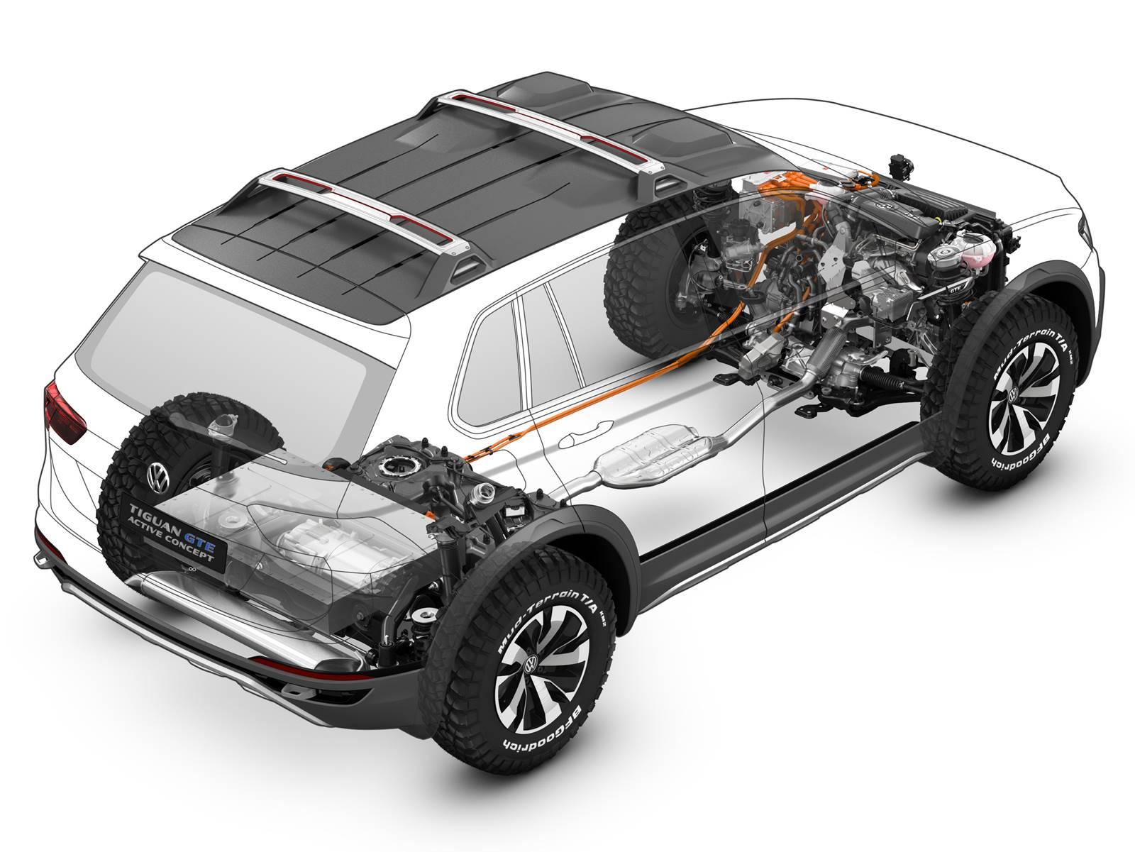 Volkswagen Tiguan GTE 2017