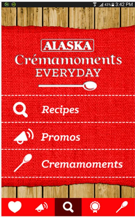 alaska crema app