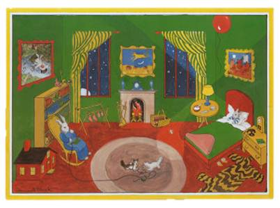 Inspired Whims Goodnight Moon Room