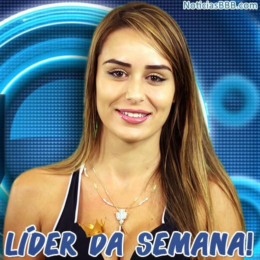 Resultado prova do líder BBB14: Letícia é a Líder da Semana no BBB14