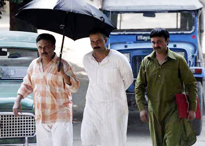 A Still from Anurag Kashyap's Gangs of Wasseypur, manoj bajpai, piyush mishra