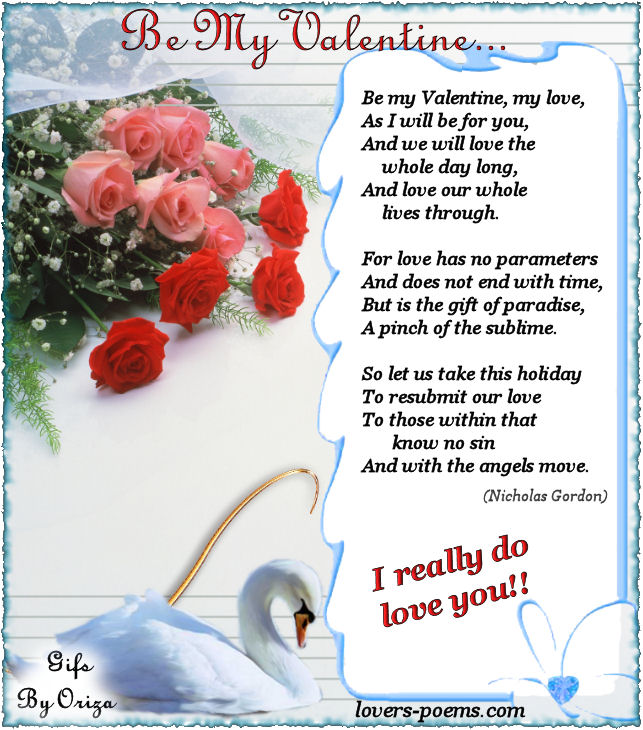 for him for her for the one you love for your boyfriend for a girl for a girlfriend images pictures wallpapers - Valentines Love Poems