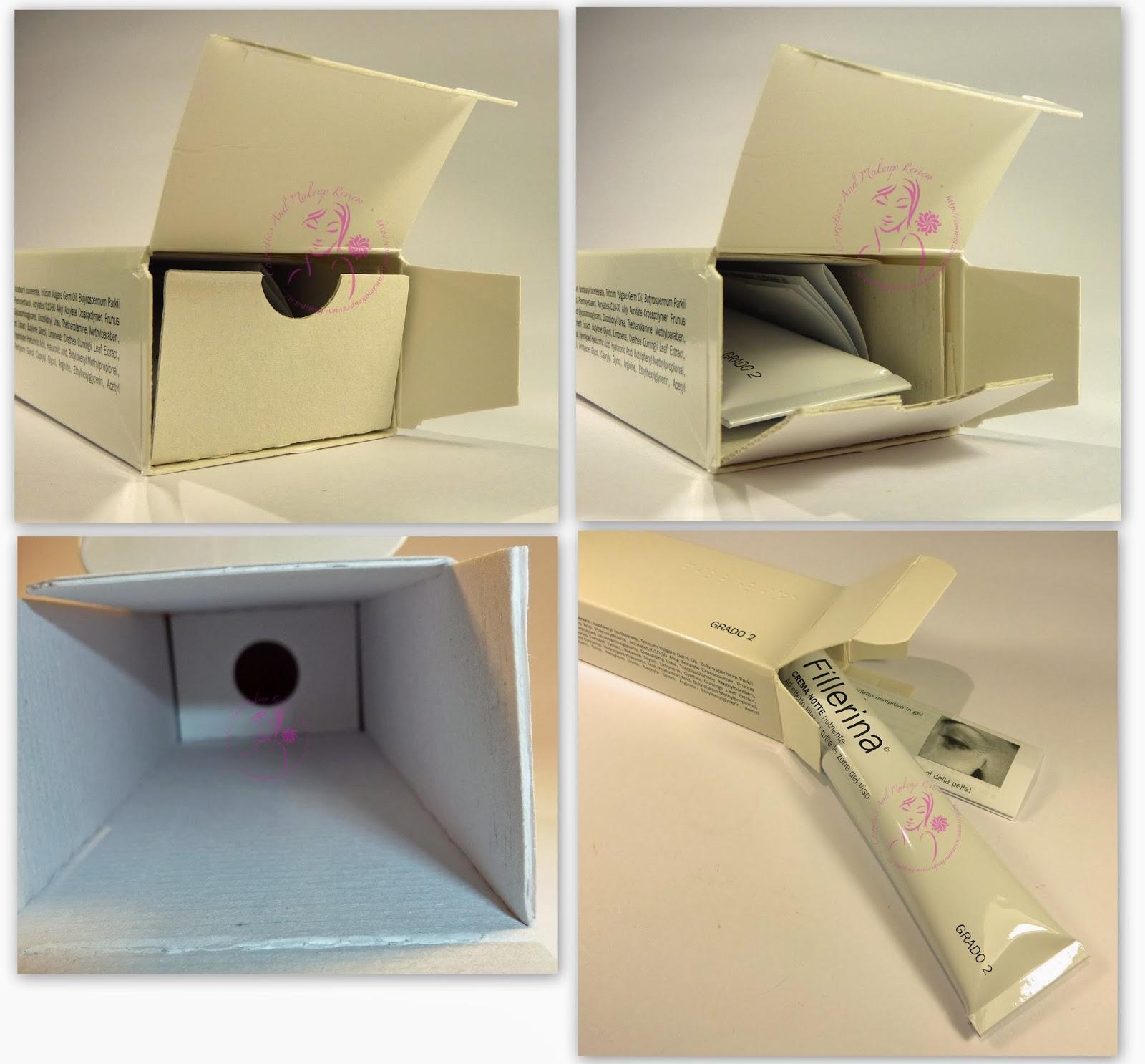 LABO - Fillerina Viso - Crema Notte - Grado 2 - packaging aperto