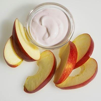 رجيم الزبادي والتفاح