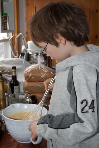 Simple recipes puff pancake