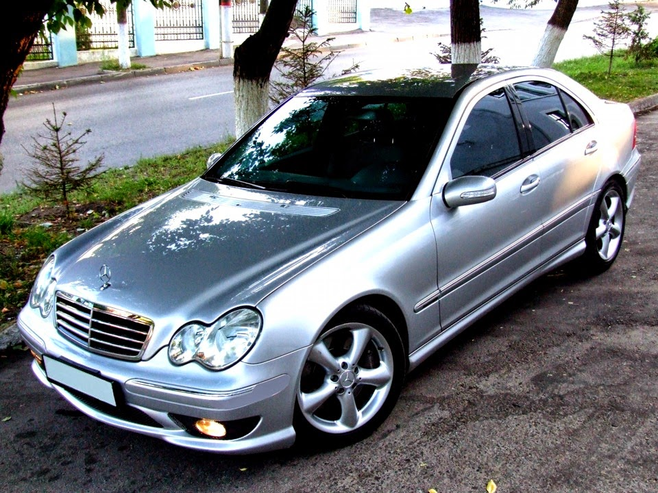 mercedes benz c230k w203 sport pkg benztuning. Black Bedroom Furniture Sets. Home Design Ideas