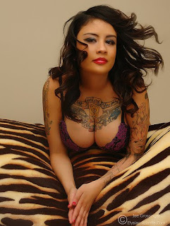 Breast Tattoo