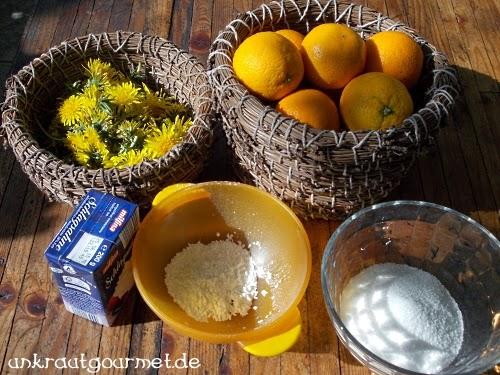 unkrautgourmet pflanzen essen rezepte und mehr orangen l wenzahnbl ten creme. Black Bedroom Furniture Sets. Home Design Ideas