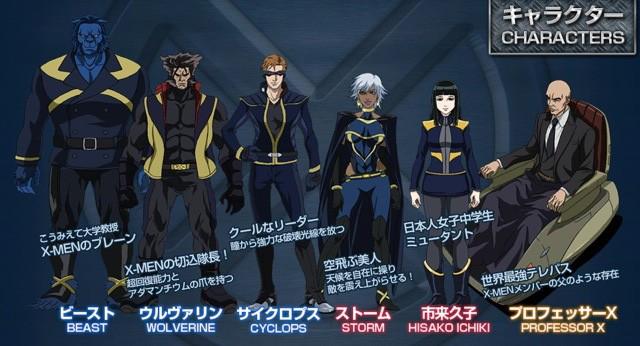 X-MEN X-men_anime