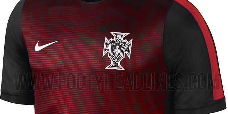 Nueva camiseta pre partido Nike de la Selección de Portugal