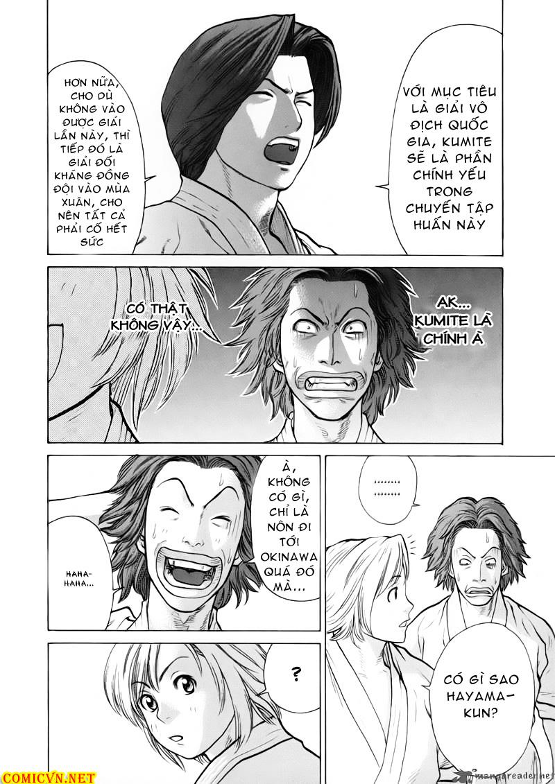 Karate Shoukoushi Kohinata Minoru chap 41 Trang 10