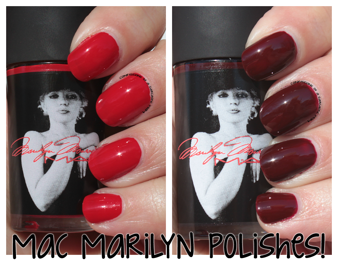 Two MAC polishes from the Marilyn Monroe collection! | Confessions ...
