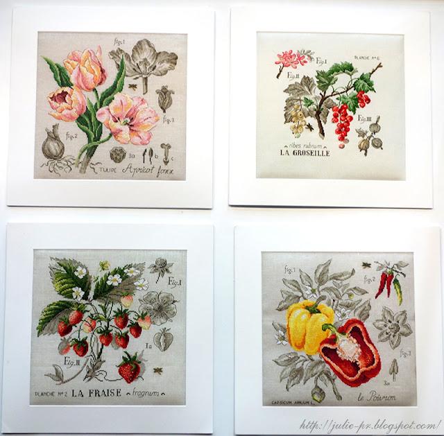 les brodeuses parisiennes, парижские вышивальщицы, атмосфера творчества, veronique enginger, ботанические этюды, вышивка