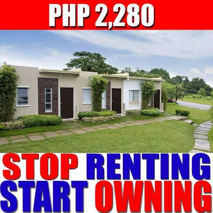 Delightful Rent To Own House In Lipa Batangas Lumina Homes Lipa Airene Model P2,280  Monthly