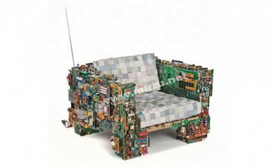 Foto - Foto Furniture Dari Limbah Elektronik