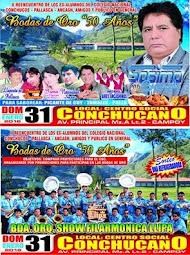II REENCUENTRO DE EXALUMNOS COLEGIO CONCHUCOS EN CAMPOY