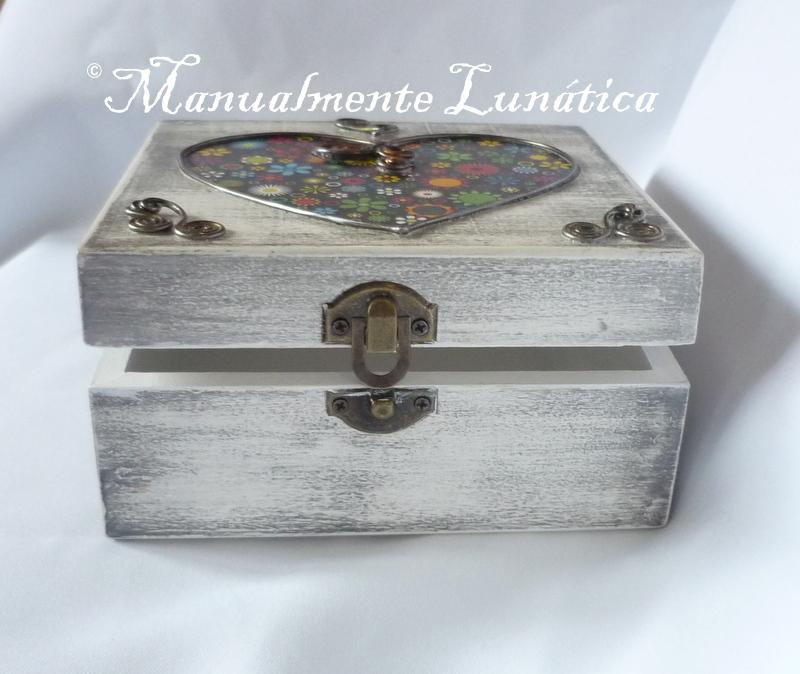Manualmente lun tica caja de madera personalizada - Cajas de vino de madera decoradas ...