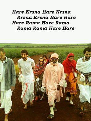Chante den Maha-Mantra - und