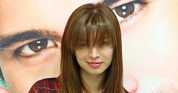 new hairstyle of angel locsin new hairstyle of angel
