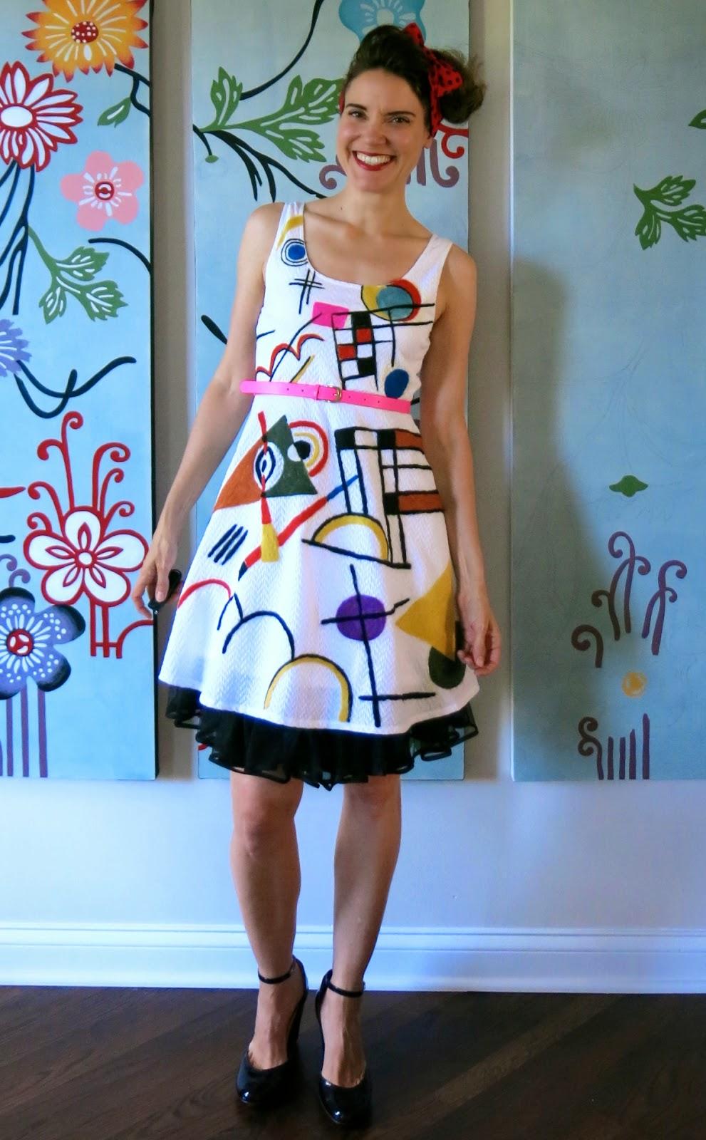 Diy A Kandinsky Inspired Dress Part 1
