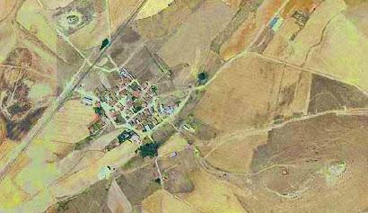 vista aérea de Carpio Bernardo