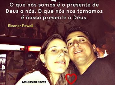 Márcio Pires e Esposa