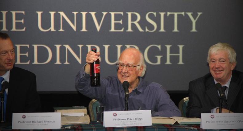 Peter Higgs Nobel Prize 2013