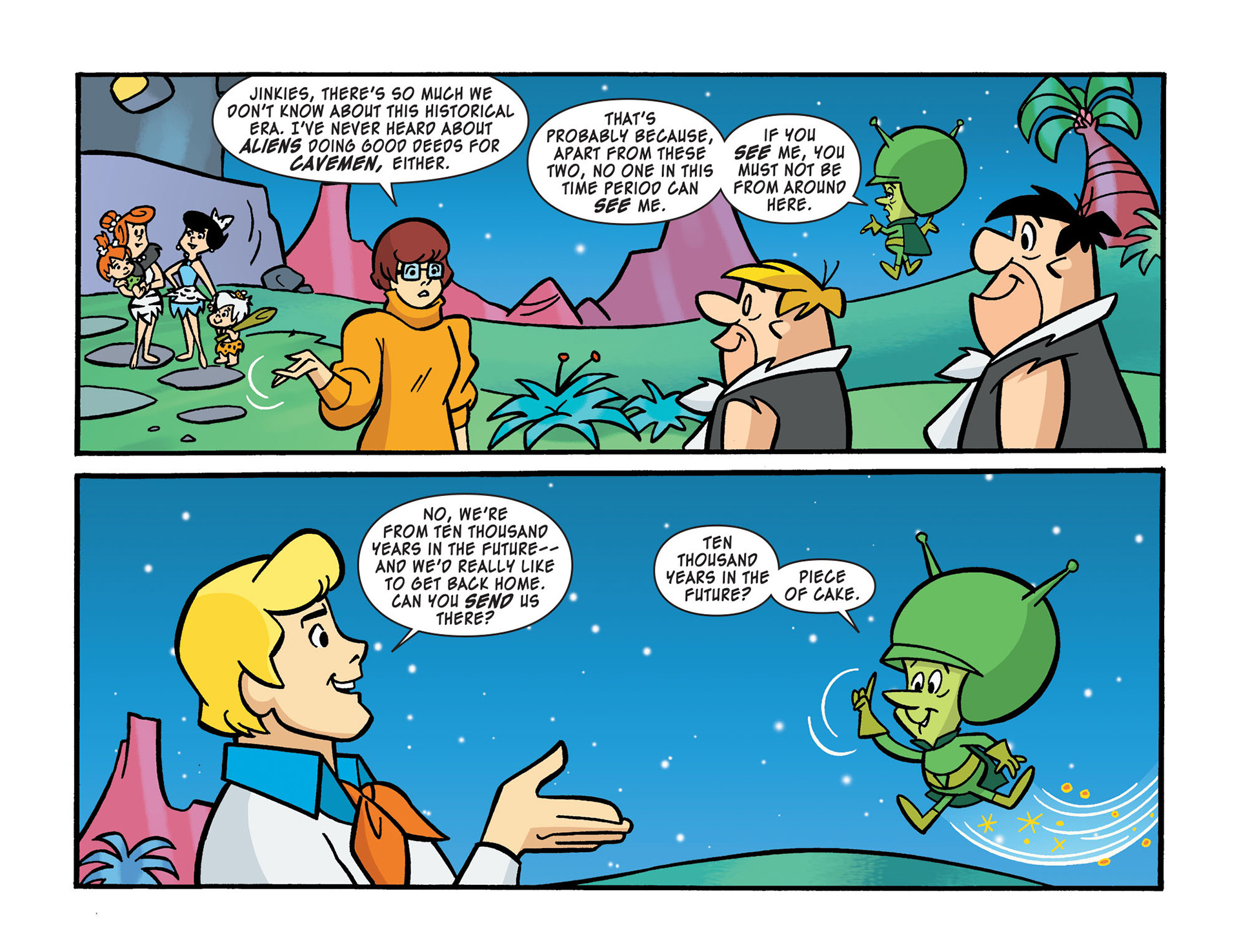 Read online Scooby-Doo! Team-Up comic -  Issue #14 - 18