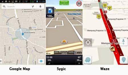 Aplikasi Map untuk Pantau Jalur Mudik