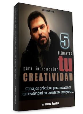 Libro a la venta en amazon por el artista contemporaneo Abisay Puentes