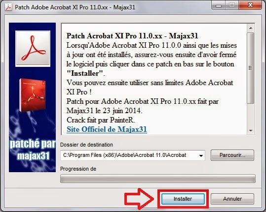patch adobe acrobat xi professional 11.0.xx