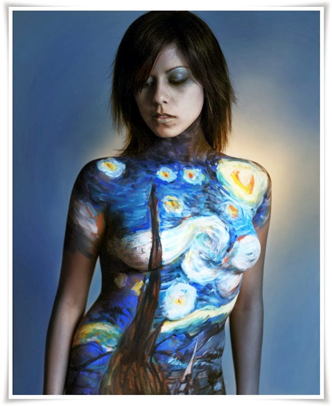 Body Painting with Women Subjects