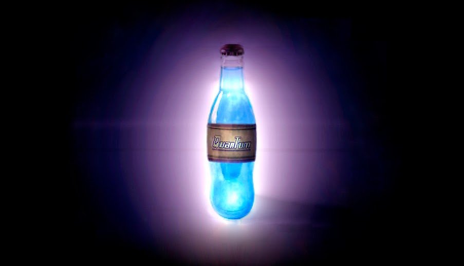 photo relating to Nuka-cola Quantum Printable Label named Nuka Cola Quantum The Geeky Chef