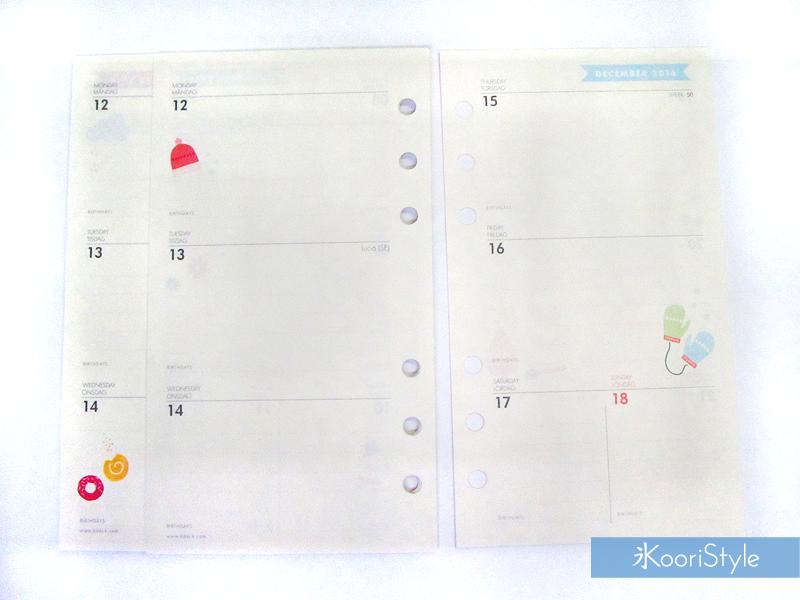 Kawaii, Cute, Paper, Koori Style, Koori Style, Koori, Style, Planner, Planning, Stationery, Deco, Decoration, Time Planner, Kikki K, Journal, Agenda, Medium, Ring Planner, Plan With Me, Set Up