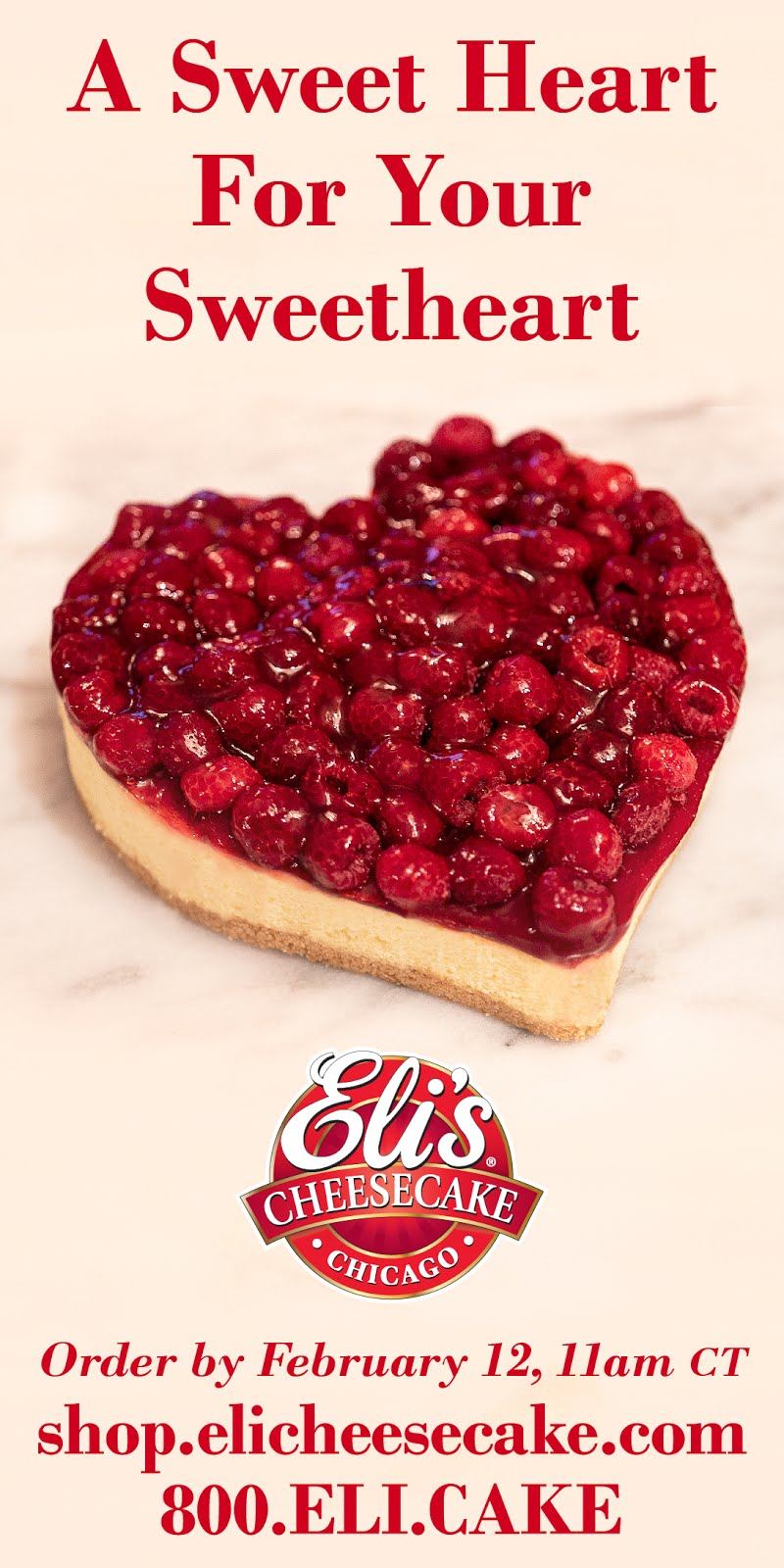 Show your love with Eli's!