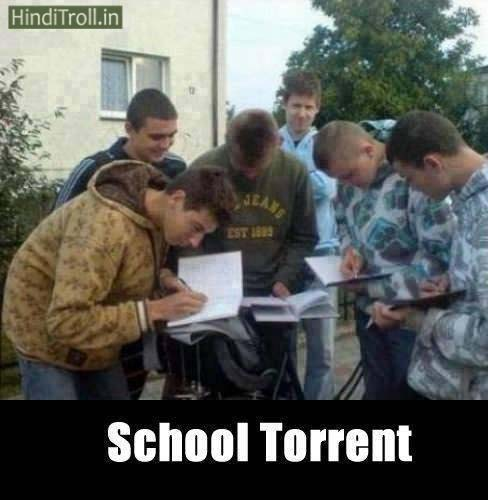 School Torrent Boys Funny Picture | Boys Cheat In School Funny Photo