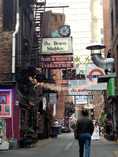 Blues Alley, downtown Nashville.