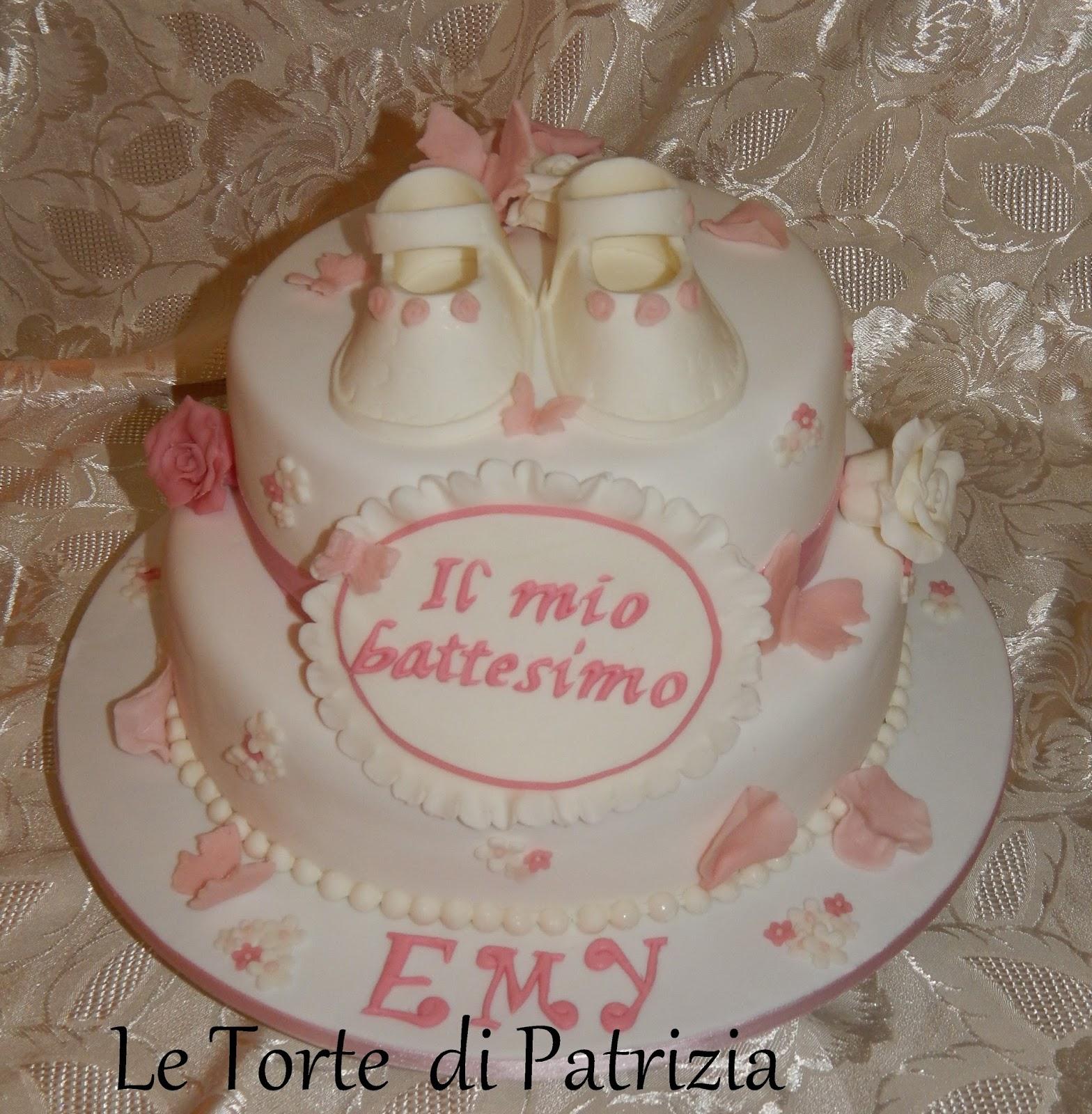 Le torte di patrizia passione e fantasia battesimo emy