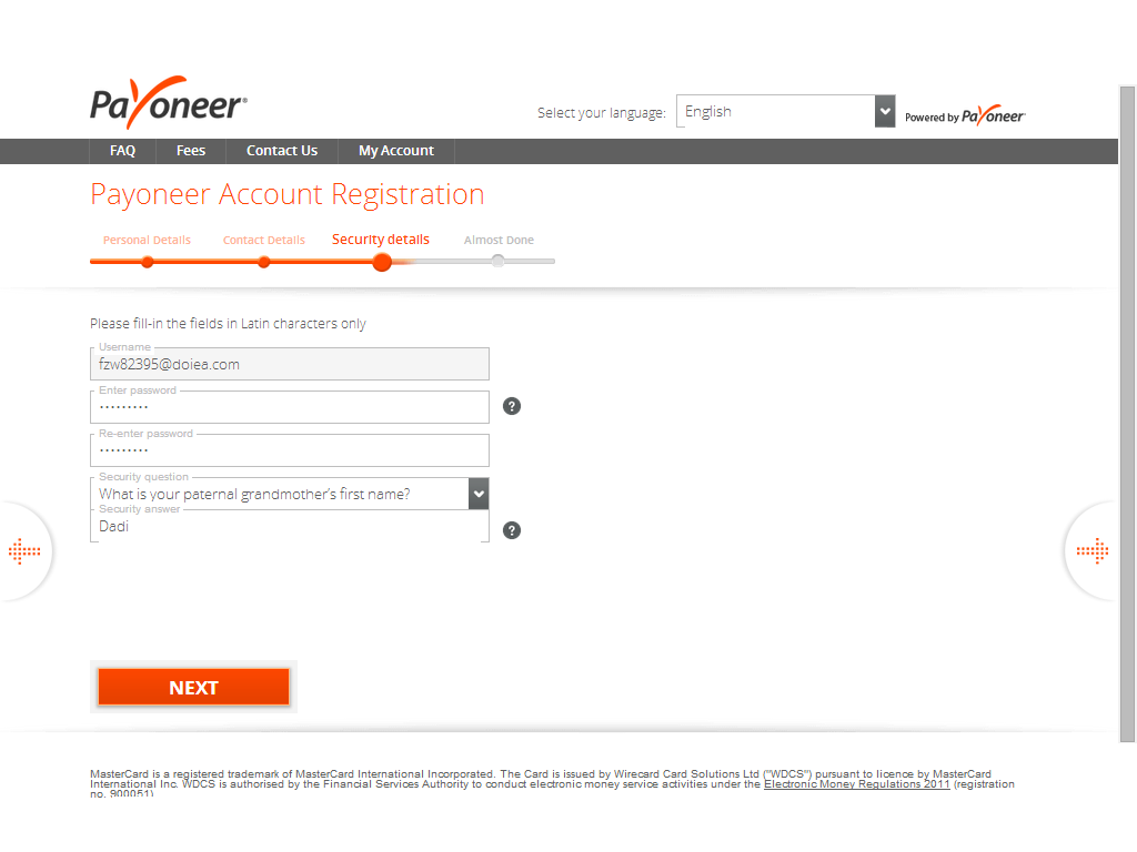 Hope that You can Under stand how to Make the sweet Payoneer Card.