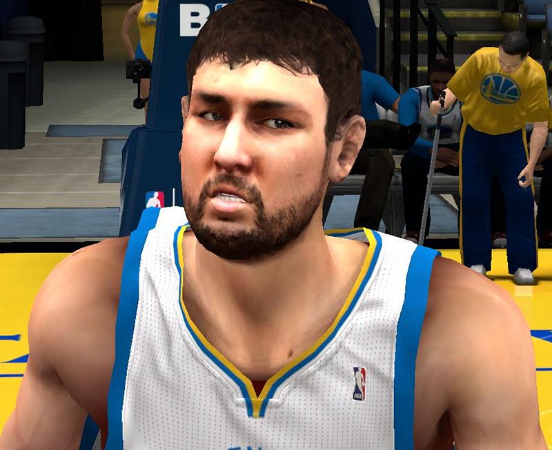 NBA 2K14 Andrew Bogut Next-Gen Face Mod