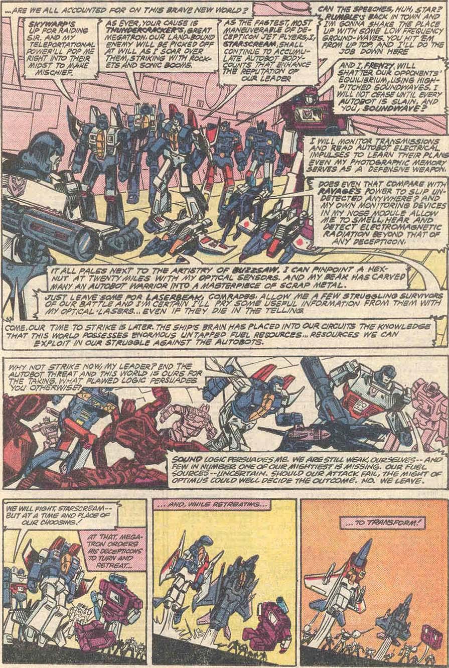 The Transformers (1984) #1 #80 - English 14