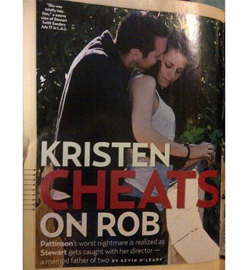Foto Perselingkuhan Kristen Stewart dan Rupert Sanders