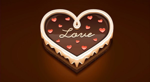 Hình ảnh valentine trái tim đẹp