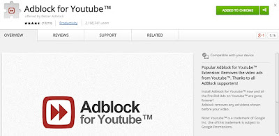 you tube ad blocker