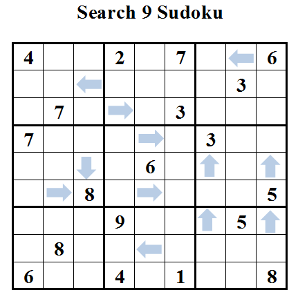 Search 9 Sudoku (Daily Sudoku League #29)