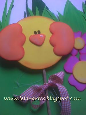 animais jardim decoração em EVA