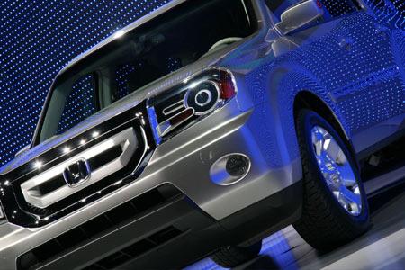 Latest Cars Models 2012  Honda pilot 2012