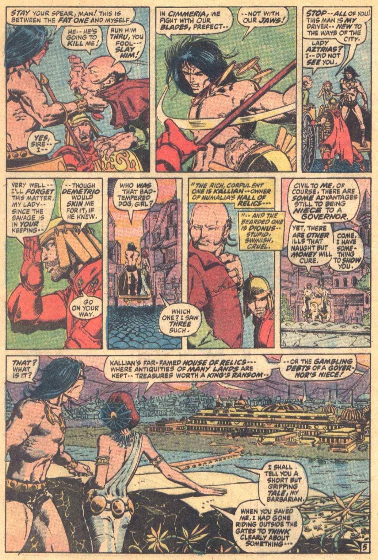 Conan the Barbarian (1970) Issue #7 #19 - English 6