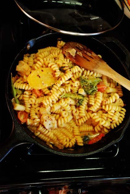 Curry pasta sauce recipe