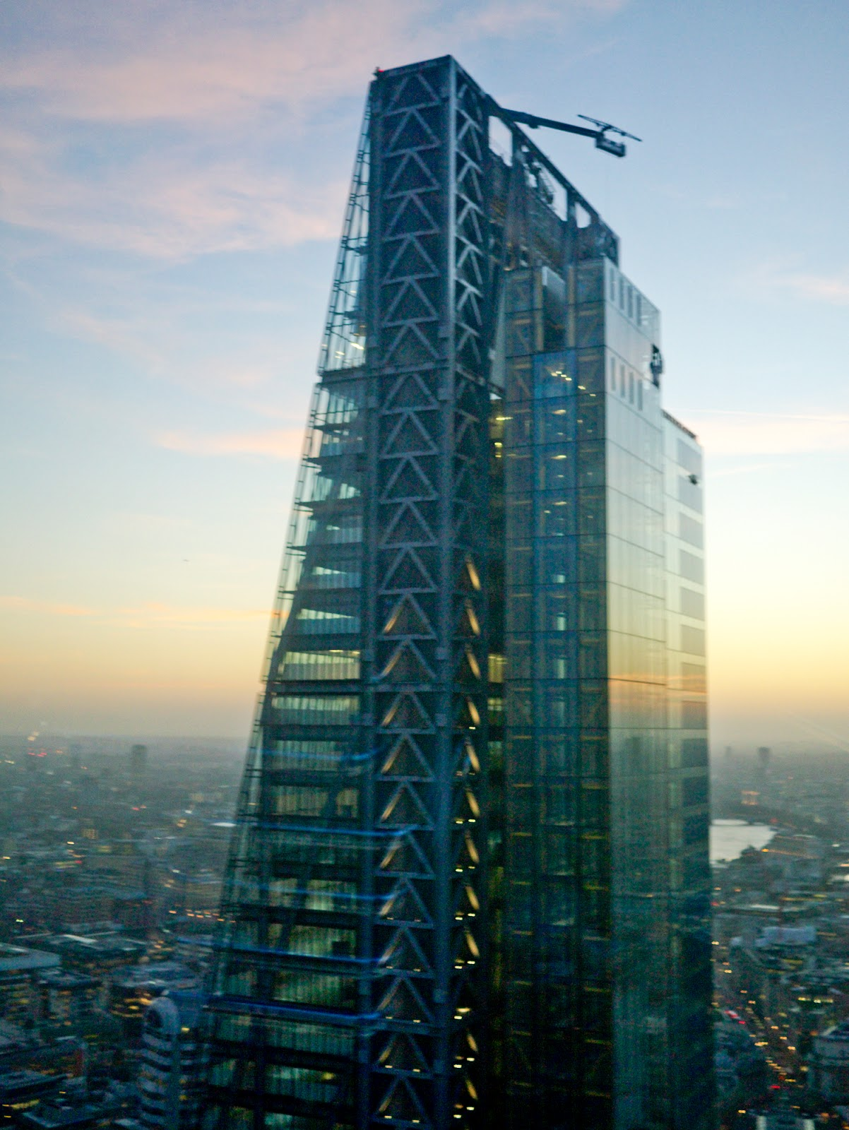 the gherkin aka 30 st mary axe by foster and partners view leadenhall